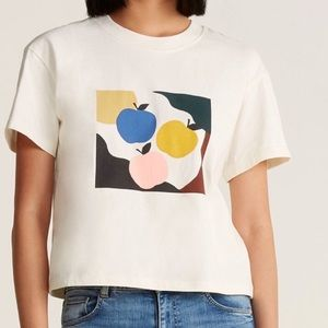 Madewell apple picking graphic t shirt NWT